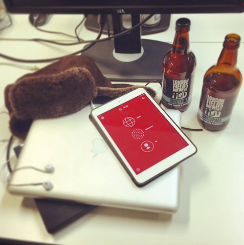 Mixlr office beers